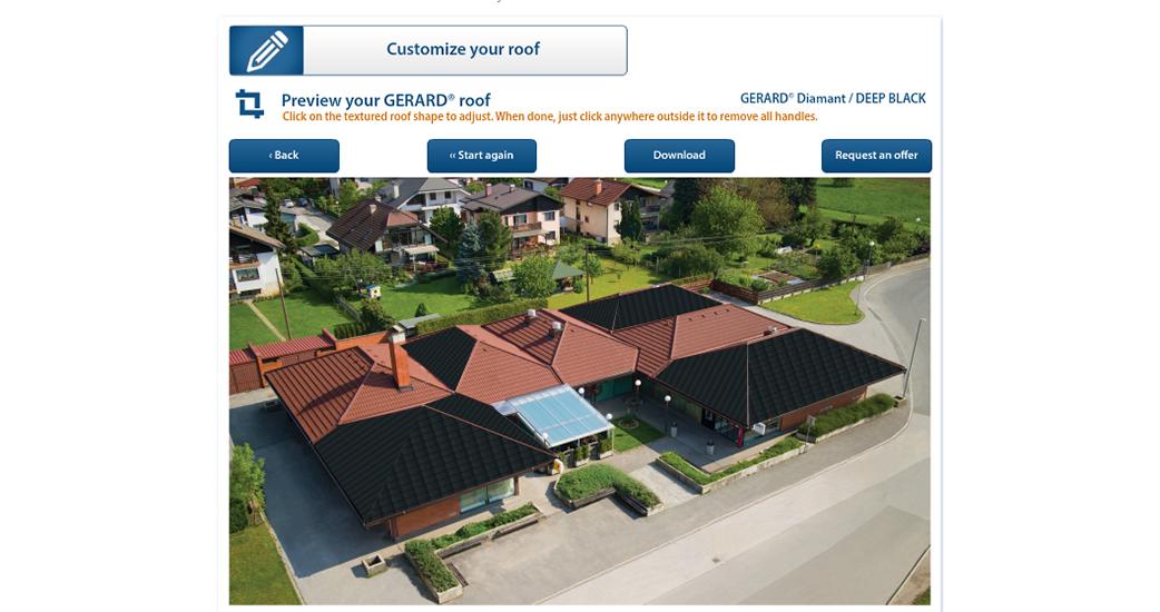 Pogledajte kako bi vaša kuća izgledati sa GERARD krovom!
