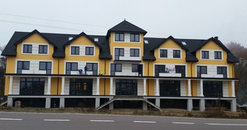 GERARD KORONA ŠINDRA Charcoal Hotel Giby